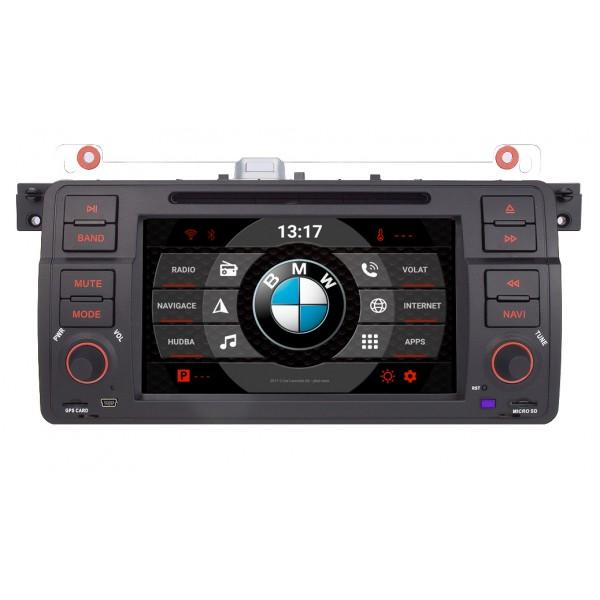 2din autorádio navigace Carmes CRM-7503 pro BMW E46