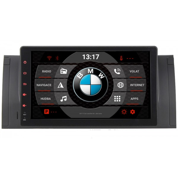 2din autorádio navigace Carmes CRM-9505 pro BMW E53 a E39