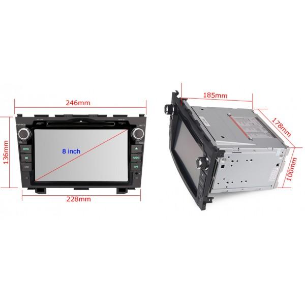 Carmes CRM-7689 pro vozy HONDA CR-V