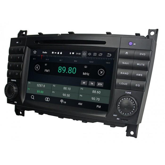 MERCEDES-BENZ C, CLC, CLK 2din autorádio navigace Carmes CRM-7218