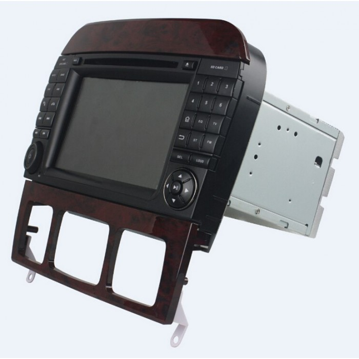 MERCEDES-BENZ S, CL 2din autorádio navigace Carmes CRM-7217