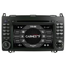 MERCEDES-BENZ A, B, Viano, Vito, Sprinter 2din autorádio navigace Carmes CRM-7002
