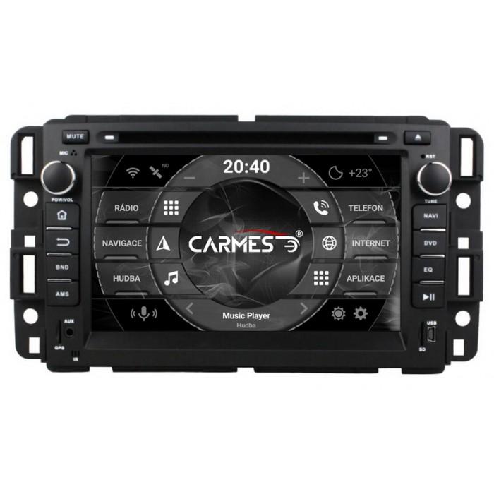GMC, Chevrolet 2din autorádio navigace Carmes CRM-7036