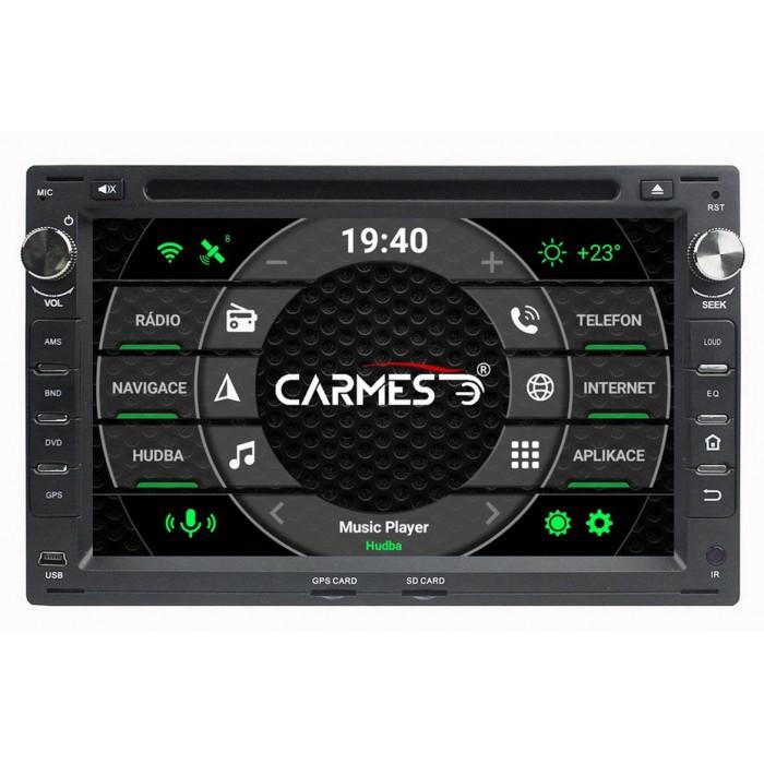 ŠKODA 2din autorádio navigace Carmes CRM-7009