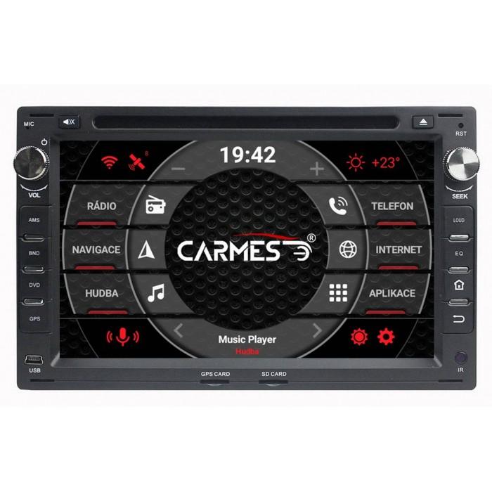 SEAT 2din autorádio navigace Carmes CRM-7009