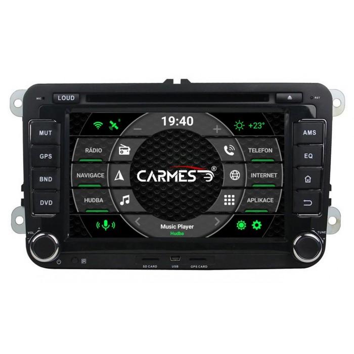 ŠKODA 2din autorádio navigace Carmes CRM-7008