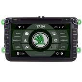 2din autorádio navigace Carmes CRM-8019 pro ŠKODA