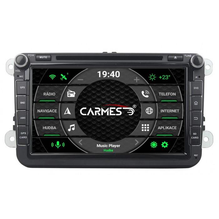 ŠKODA 2din autorádio navigace Carmes CRM-8019