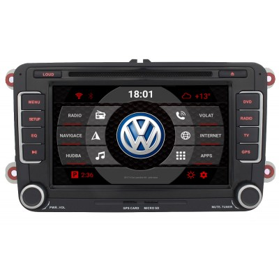 2din autorádio navigace Carmes CRM-7698 pro VW
