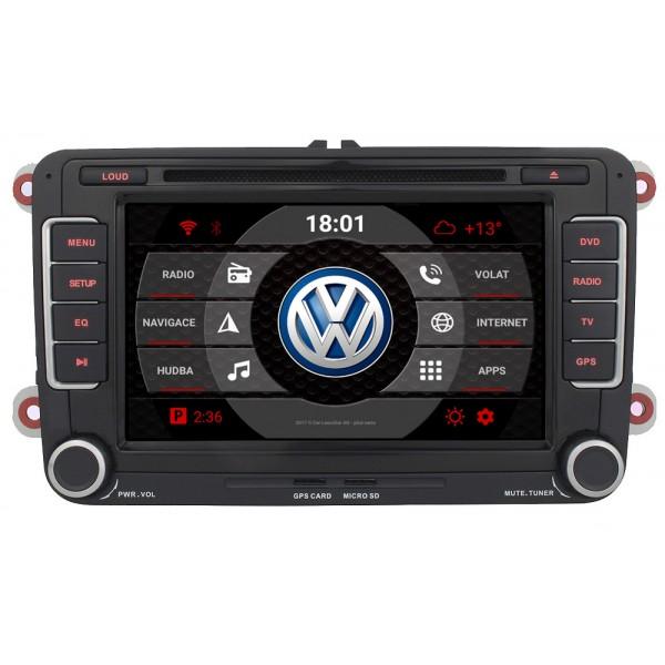 2din autorádio navigace Carmes CRM-7008 pro VW