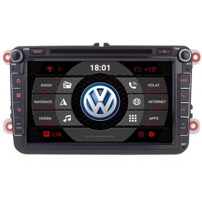 2din autorádio navigace Carmes CRM-8019 pro VW