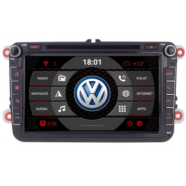 2din autorádio Carmes CRM-8405 pro vozy VW