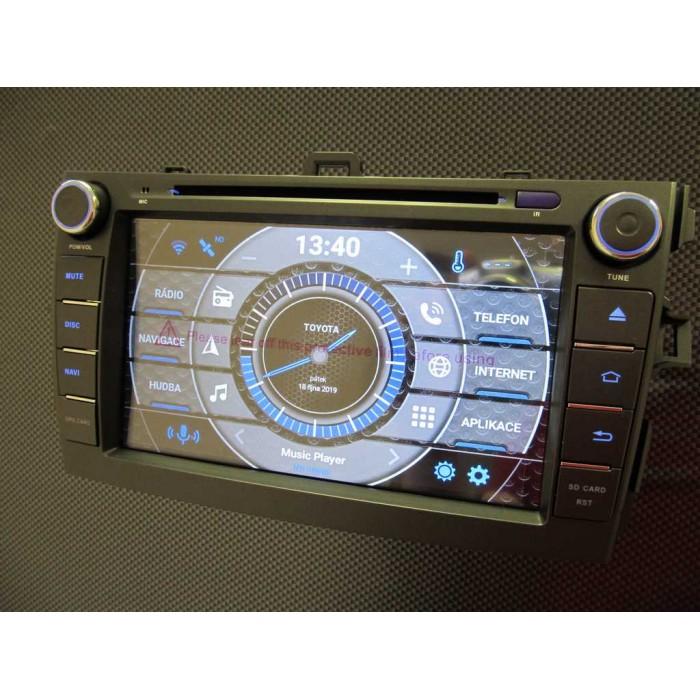 TOYOTA Corolla 2din autorádio navigace Carmes CRM-8010