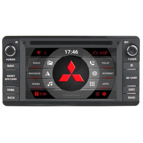 2din autorádio navigace Carmes CRM-6243 pro MITSUBISHI
