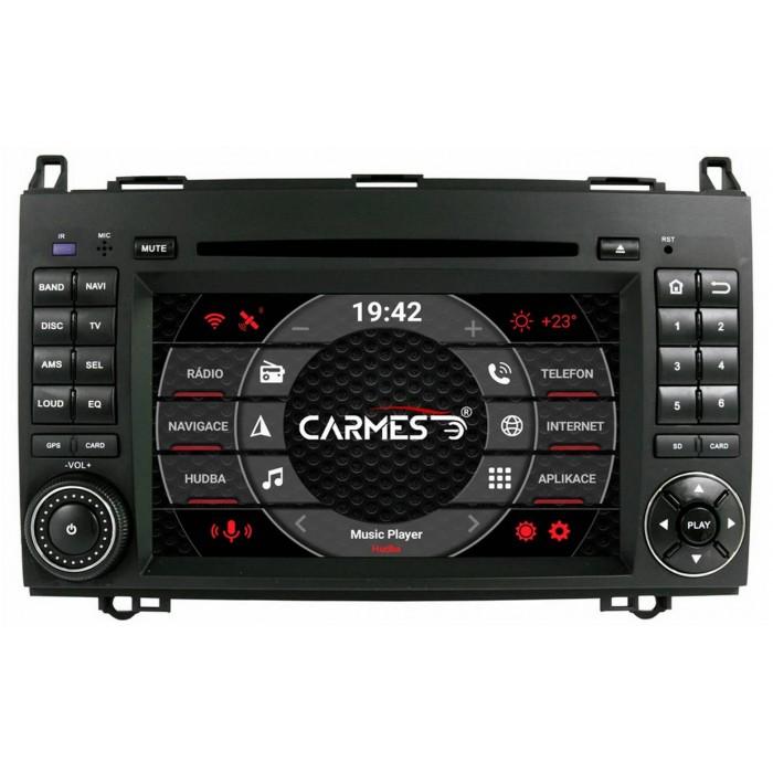 VW Crafter 2din autorádio navigace Carmes CRM-7002