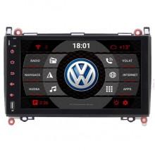 2din autorádio navigace Carmes CRM-9682 pro VW Crafter