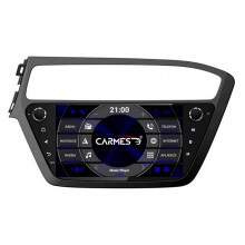 2din autorádio navigace Carmes CRM-9082 pro HYUNDAI i20 2018+