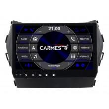 2din autorádio navigace Carmes CRM-9605 pro HYUNDAI Santa Fe 2013-2018