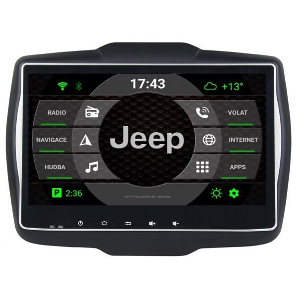 2din autorádio navigace Carmes CRM-9504 pro JEEP Renegade