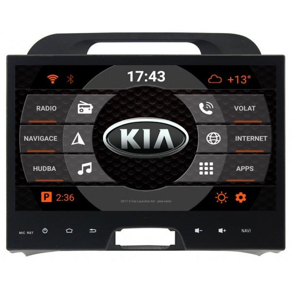 2din autorádio navigace Carmes CRM-9508 pro KIA Sportage