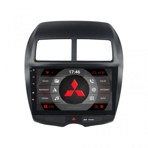 2din autorádio navigace Carmes CRM-1206 pro MITSUBISHI ASX