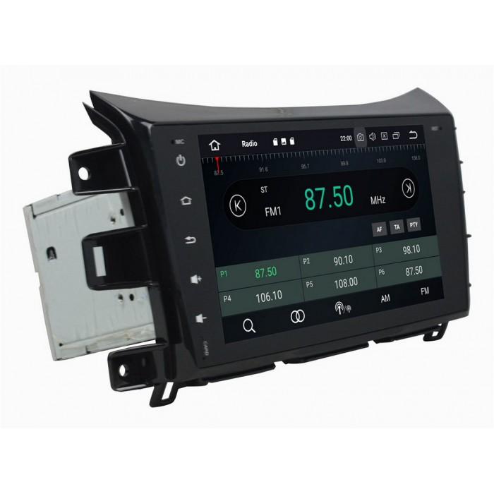 2din autorádio navigace Carmes CRM-9625 pro NISSAN Navara