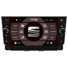 2din autorádio navigace Carmes CRM-9823 pro SEAT IBIZA 2017