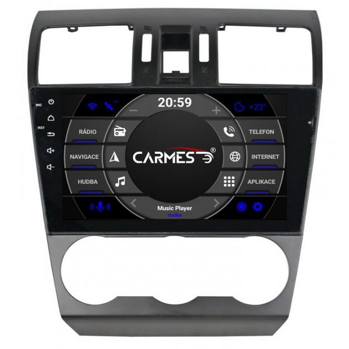 2din autorádio navigace Carmes CRM-9108 pro SUBARU Forester
