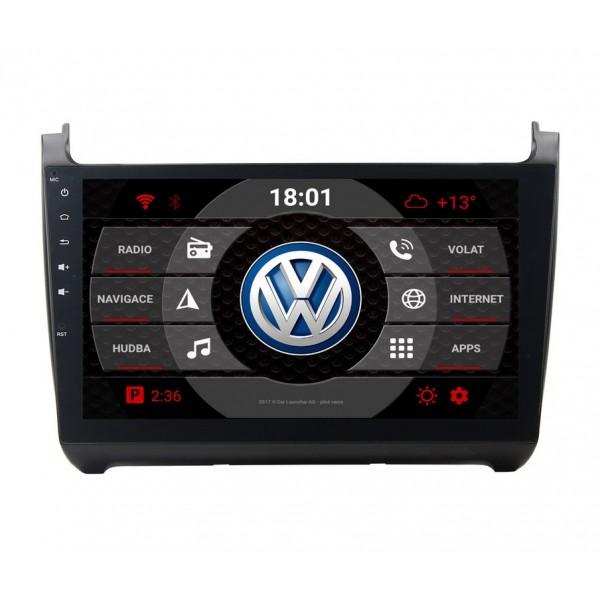 2din autorádio navigace Carmes CRM-1019 pro VW Polo