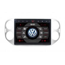 2din autorádio navigace Carmes CRM-1024 pro VW Tiguan