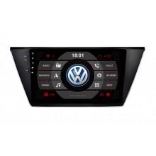 2din autorádio navigace Carmes CRM-1338 pro VW Touran