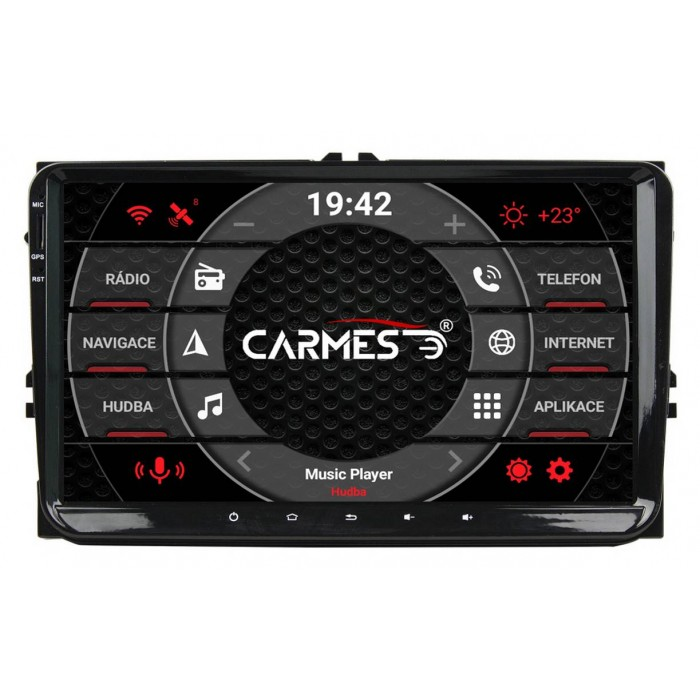 Volkswagen 2din autorádio navigace Carmes CRM-9613