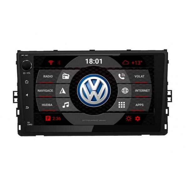 2din autorádio navigace Carmes CRM-9813 pro VW Univerzální