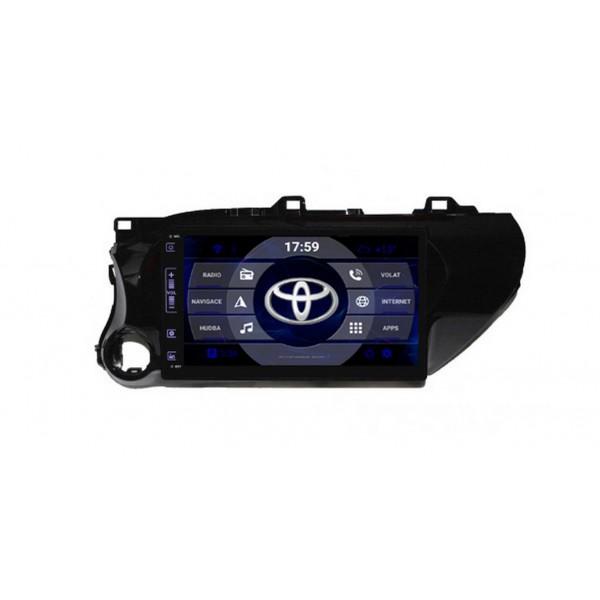 2din autorádio navigace Carmes CRM-1443 pro TOYOTA Hilux