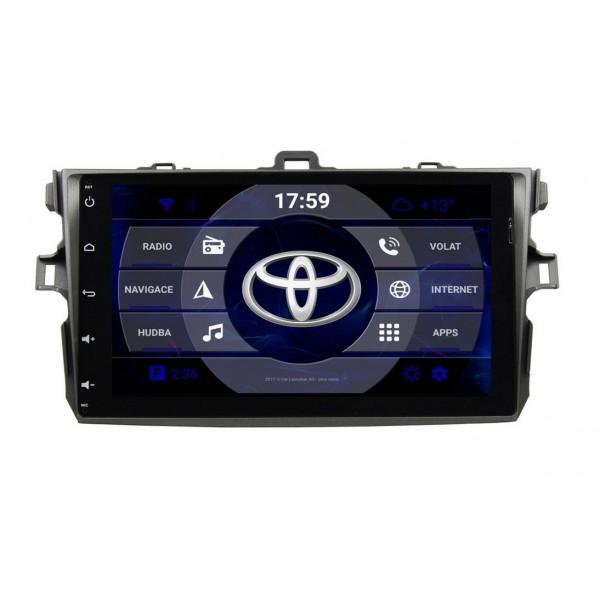 2din autorádio navigace Carmes CRM-9306 pro TOYOTA Corolla