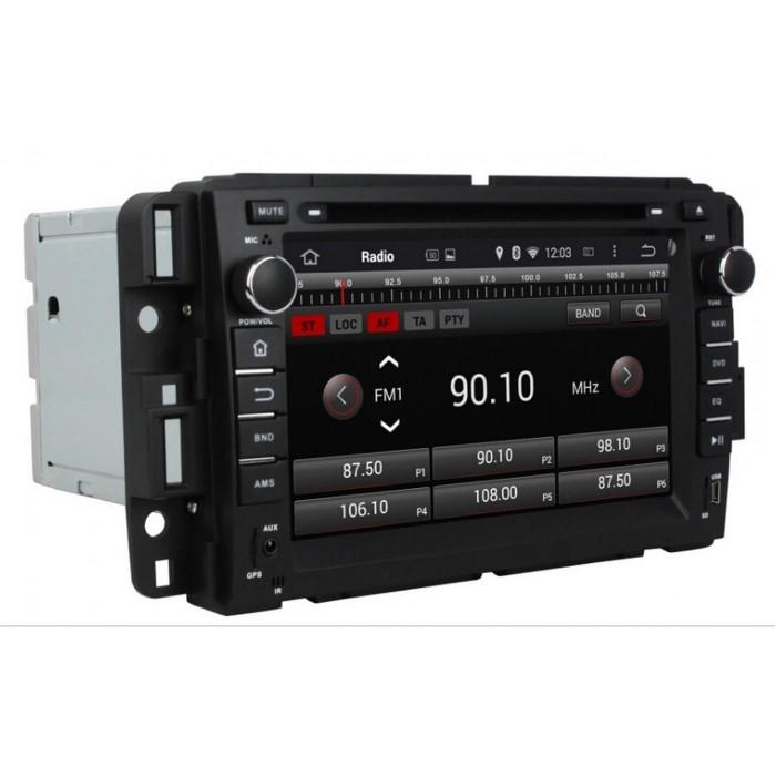 GMC, Chevrolet 2din autorádio navigace Carmes CRM-7036 - doprodej Android 6
