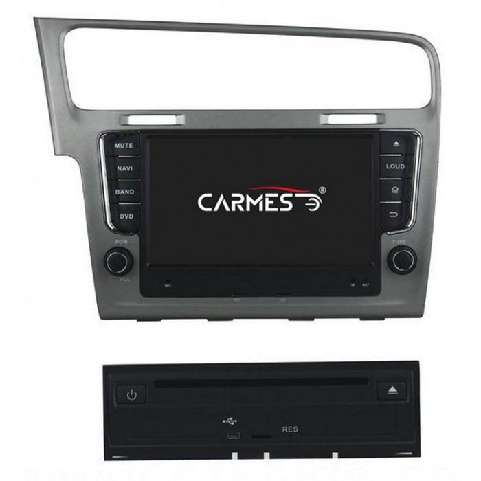 VW Golf 2din autorádio navigace Carmes CRM-8012