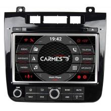 Volkswagen TOUAREG 2din autorádio navigace Carmes CRM-8009