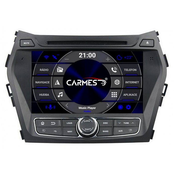 HYUNDAI Santa Fe 2013-2018 2din autorádio navigace Carmes CRM-8056
