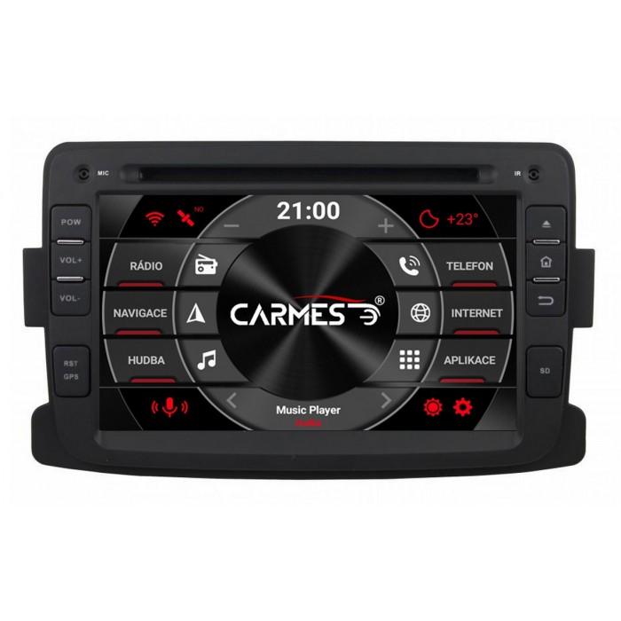 DACIA DUSTER 2012-2013 2din autorádio navigace Carmes CRM-7083