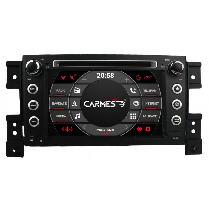 SUZUKI Vitara 2din autorádio navigace Carmes CRM-7056