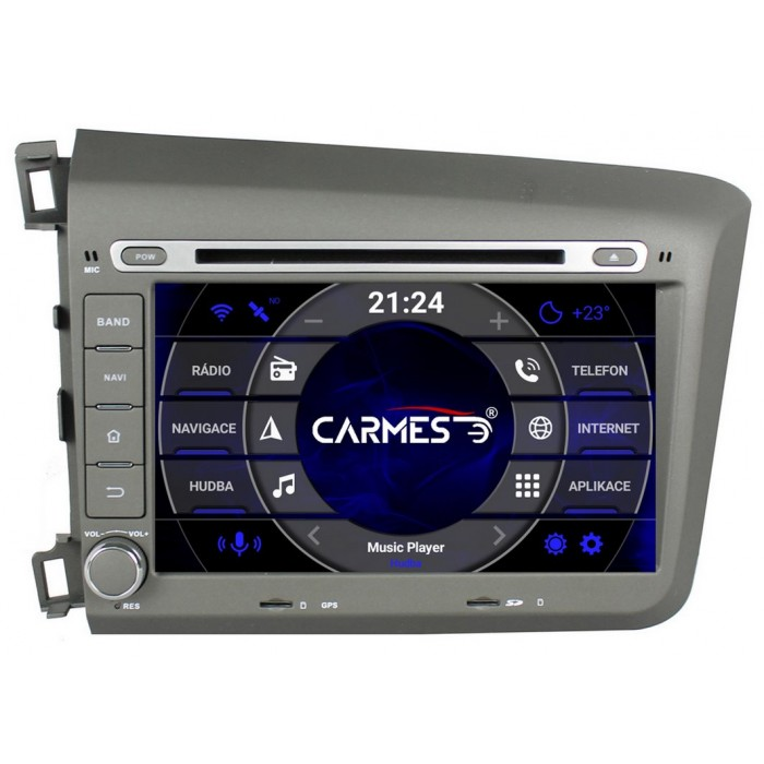 HONDA Civic 2012-2015 2din autorádio navigace Carmes CRM-8037