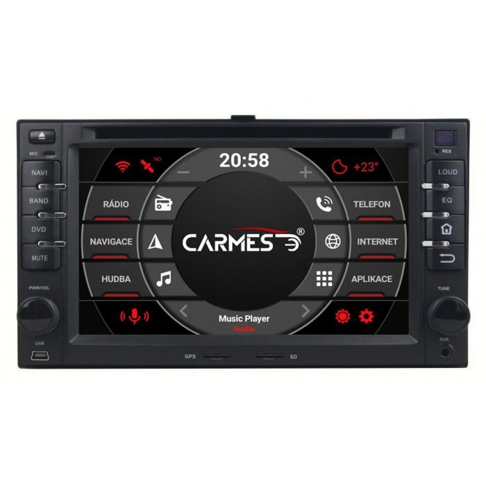 KIA 2din autorádio navigace Carmes CRM-6227