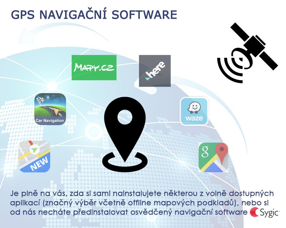 Carmes 2din Android GPS navigace Sygic