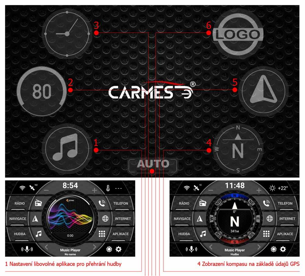 carmes crm-8105 honda crv