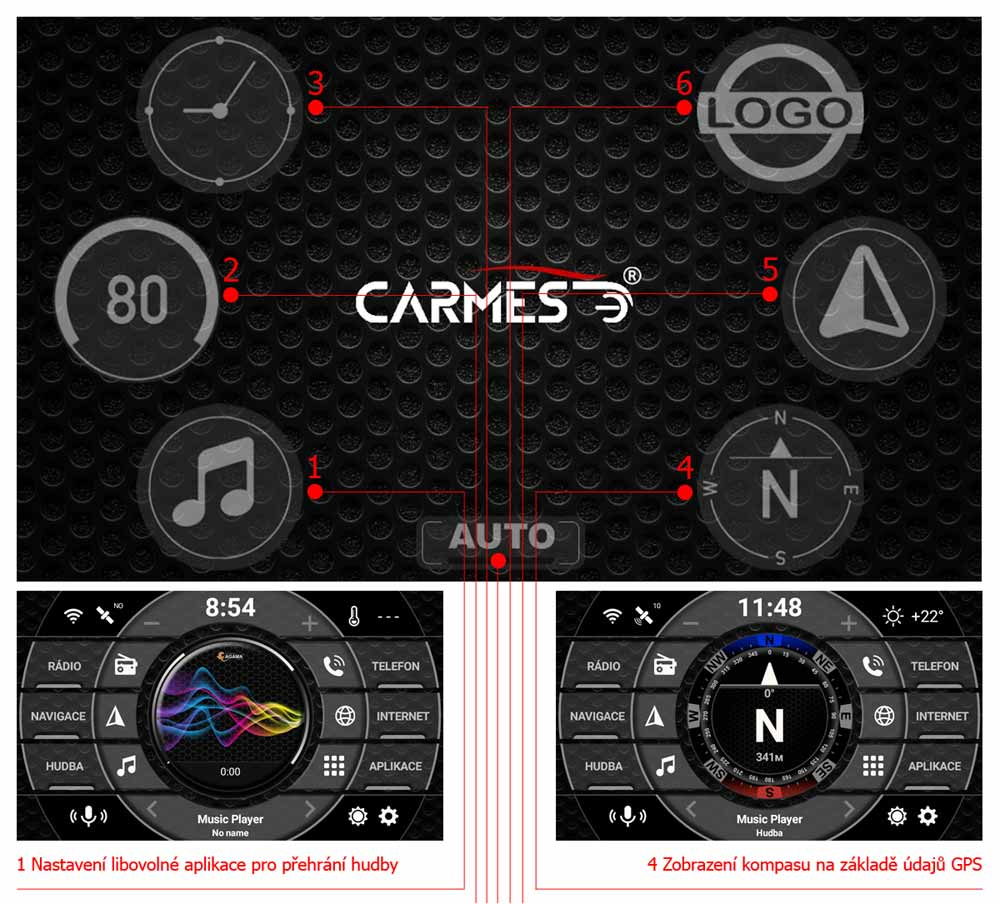 carmes crm-1051 toyota land cruiser