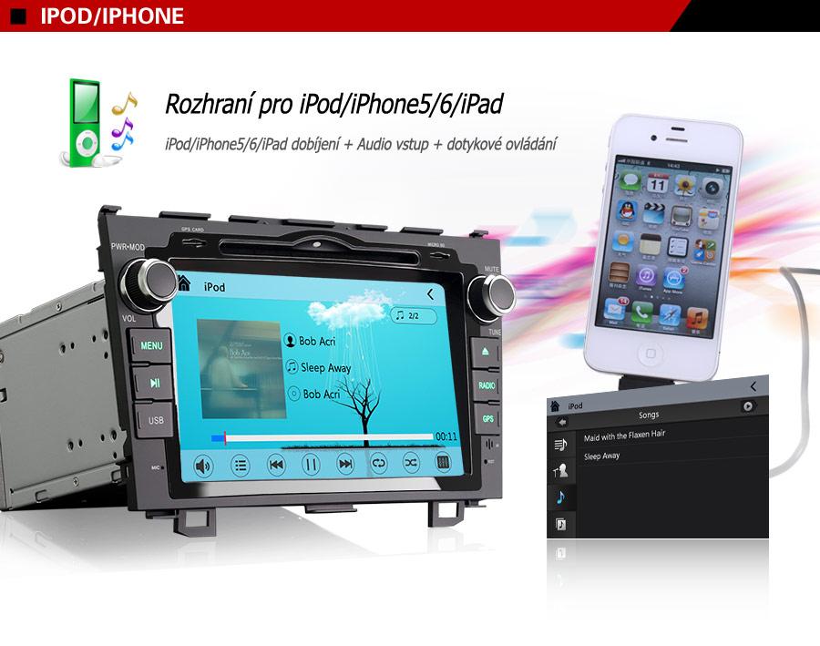 honda-8-palcu-da7659m-2din-autoradio-iPod-iPad-rozhrani